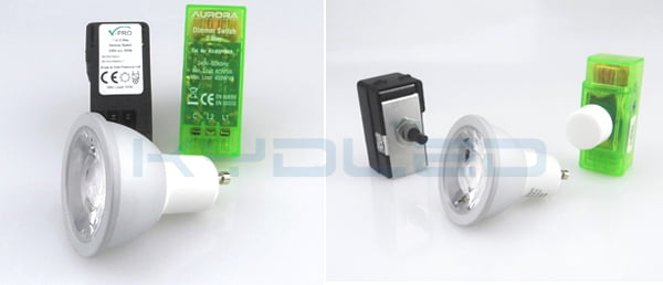 KYD led gu10 dimmable spots can work with most of the dimmers