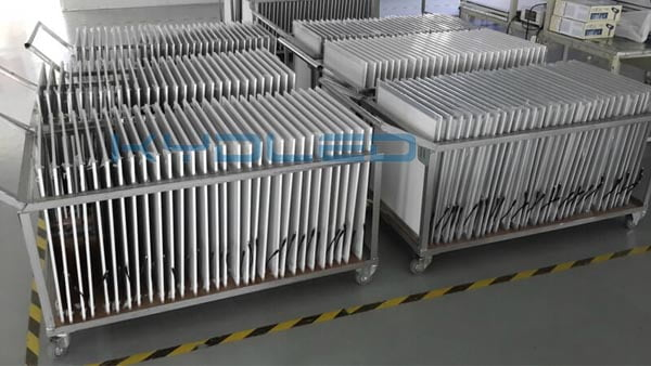 LED Flat Light production
