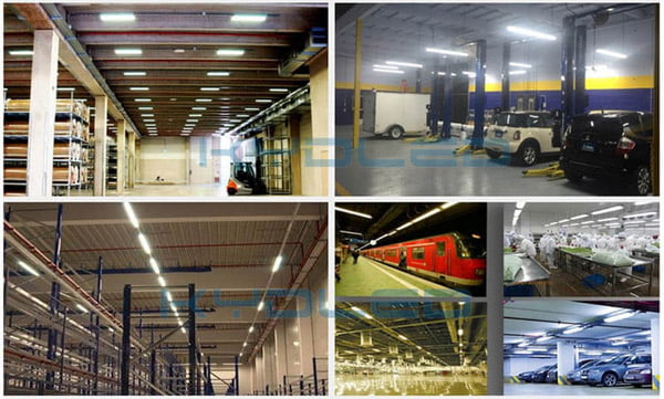 led shop lights application