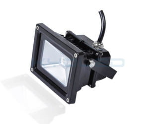 10W LED Floodlight black