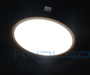 Round LED Panel Uniform light performance