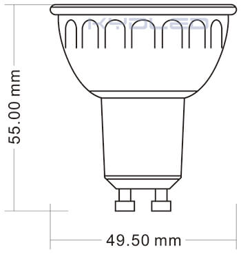 5w-gu10-light-size-diagram