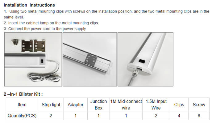 led-undercabinet-light-installation-instructions