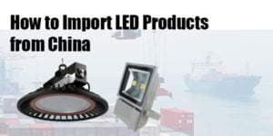 How to import LED lights from China