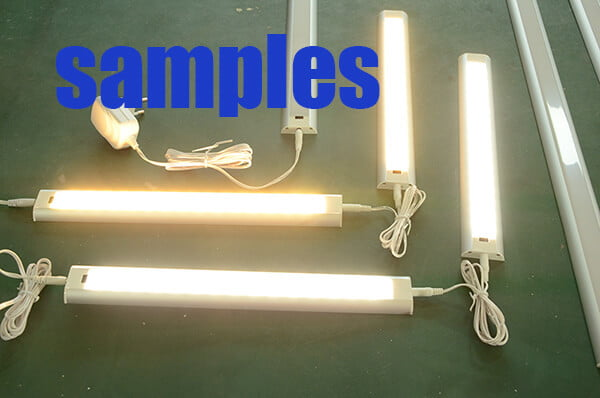 LED under cabinet lights samples