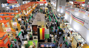 attend lighting fair