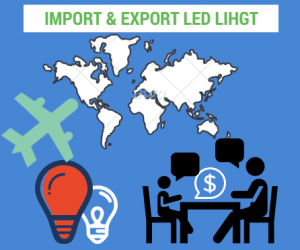 import LED light from China tips