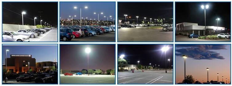 led street lights applications