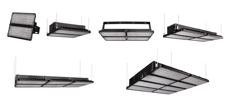 high power led stadium lights series 100W-1600W