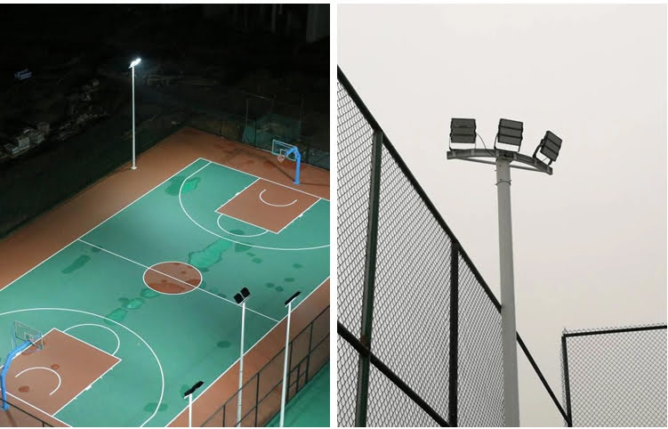 used for tennis court lighting