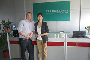 KYD LED lights factory visiting 02