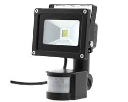 10W PIR LED flood light