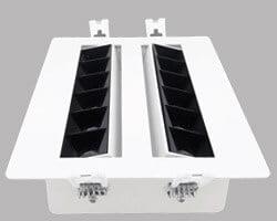 30W Adjustable rectangular LED Downlights
