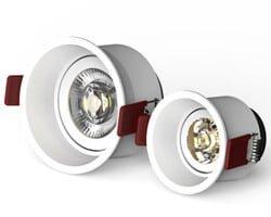 Adjustable LED Downlights