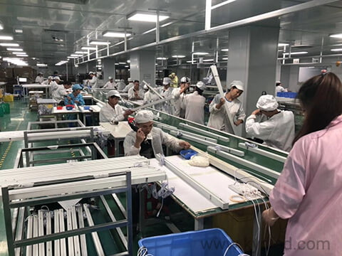 LED linear lighting manufacturer mass production
