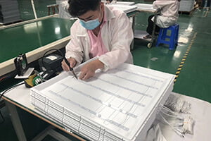 LED panel light supplier mass production