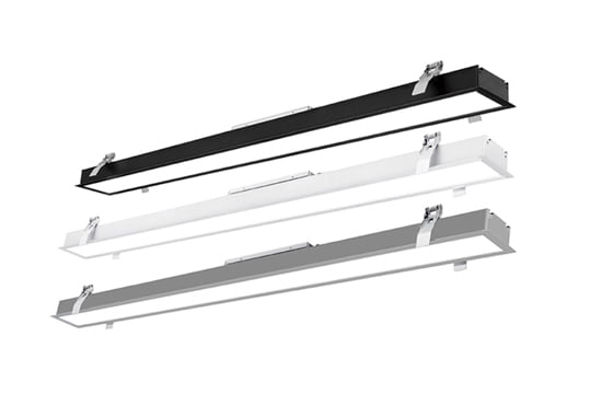 Recessed Linear Lighting 540x360