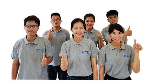 commercial lighting manufacturer KYDLED sales team 01