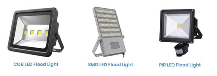 outdoor lighting LED flood lights