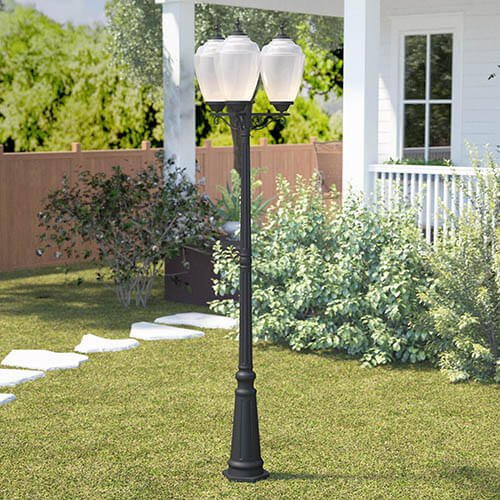 outdoor lighting fixtures gas discharge lamps