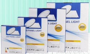 LED panel light OEM color box customization
