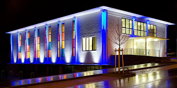 led flood lights for architectural wall washing