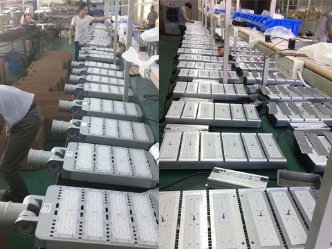 led street light manufacturer and factory in China
