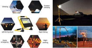portable-rechargeable-LED-flood-light-applications