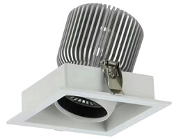 10W Square Recessed Downlight KYDS710B