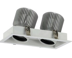 40W Square Recessed Downlights KYDS740