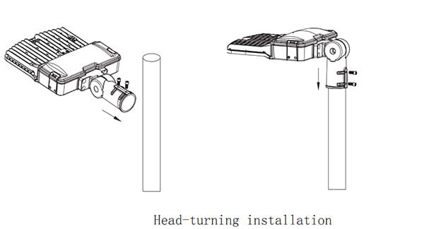best led street lights installation 01