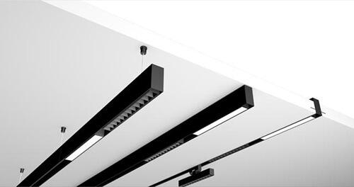 track lighting system supports three installation methods