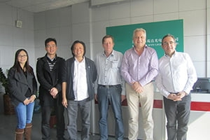 KYD LED lights factory visiting